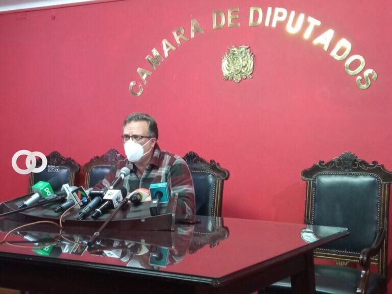 Diputado de CC lamentó que la Fiscalía General del Estado haya demorado un año en la extradición