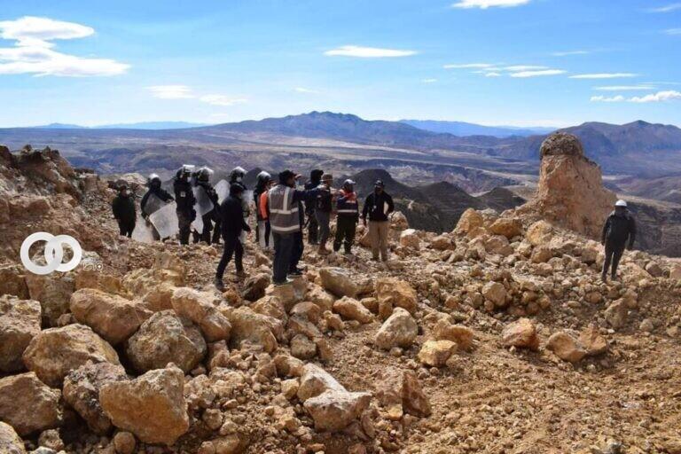 Ministerio Público aprehende a autores sobre el caso de minería ilegal en el cerro Tollojchi
