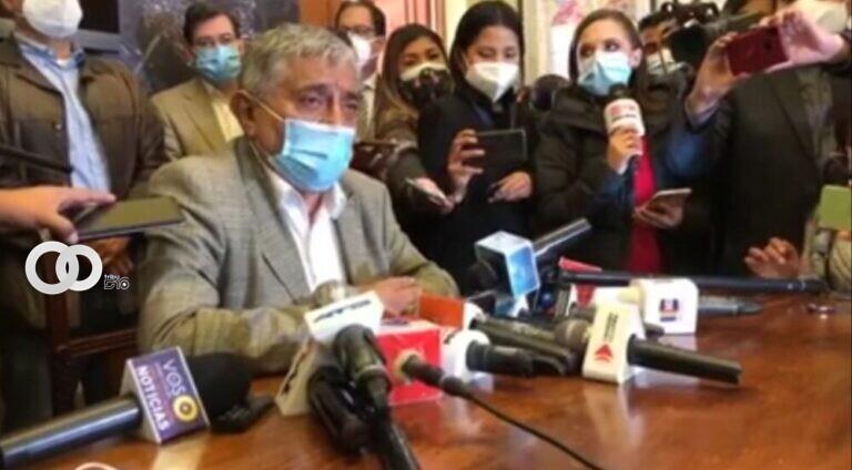 Iván Arias Alcalde de La Paz denuncia 'Guerra por parte del MAS'