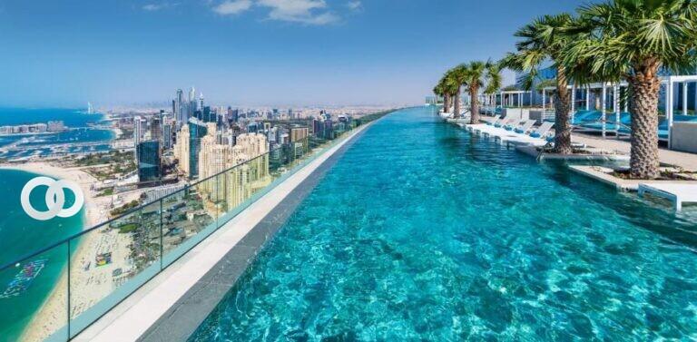 Adivina dónde está la piscina más alta del mundo ¿Nadarías en ella?