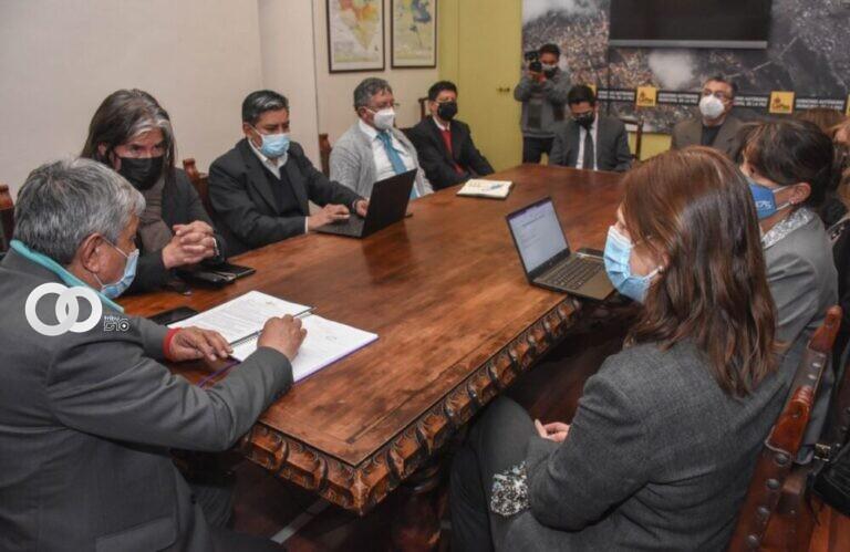 Naciones Unidas asegura apoyo a la gestión del Alcalde Iván Arias