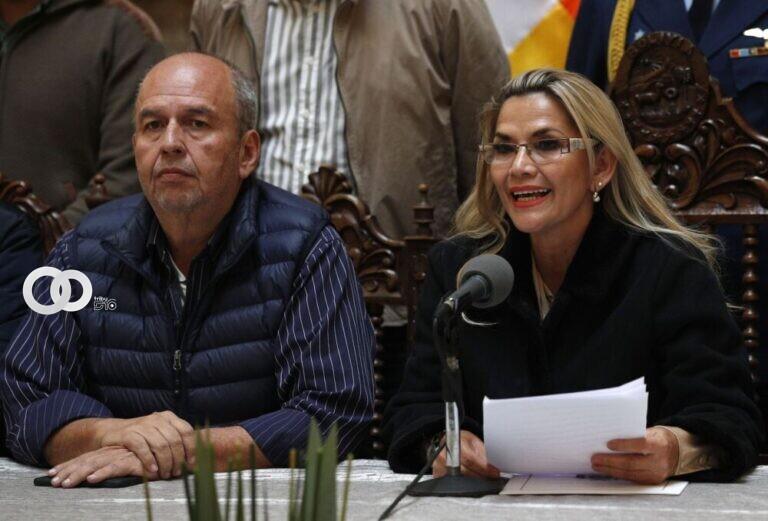 Ex Ministro Justiniano asegura que Áñez encubrió corrupción de Murillo