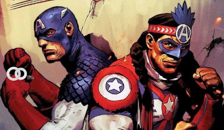 Marvel presenta a su primer Capitán América indígena. (MARVEL COMICS/Europa Press)
