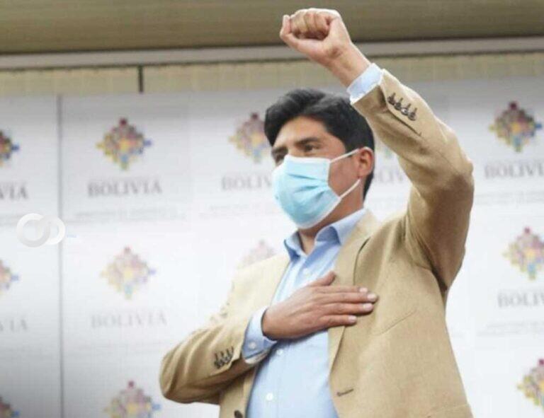 Franklin Flores, ex Candidato del MAS, fue posesionado como gerente de Emapa