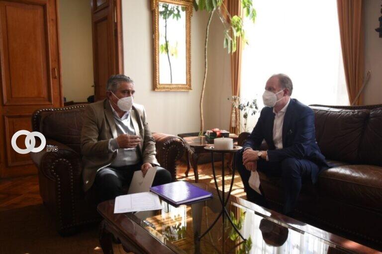 Michael Dóczy asegura apoyo a la gestión Municipal de Arias