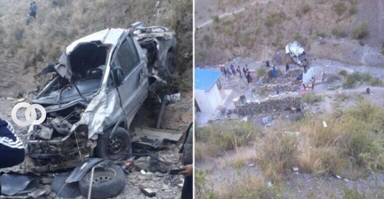 Accidente de tránsito deja tres fallecidos y eran funcionarios de la Gobernación de Potosí