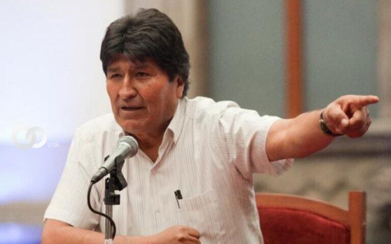 Morales no pidió disculpas por sus calificativos hacía Santa Cruz