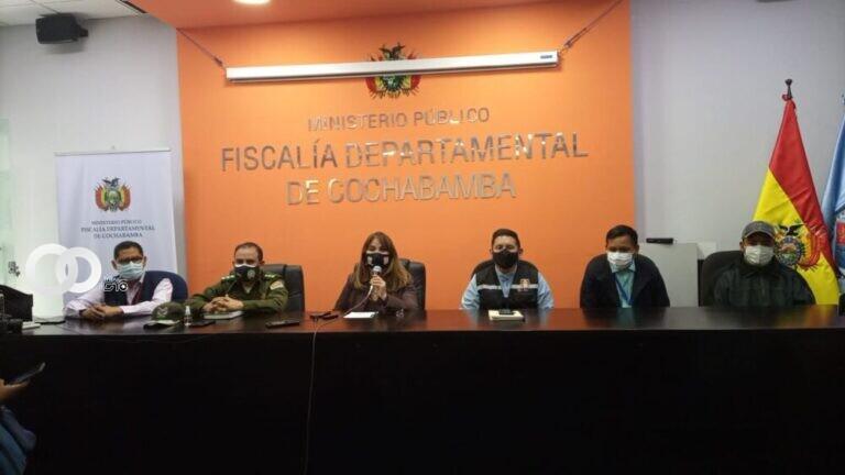 Cochabamba: Fiscalía e instituciones coordinan acciones para que se cumpla las medidas restrictivas