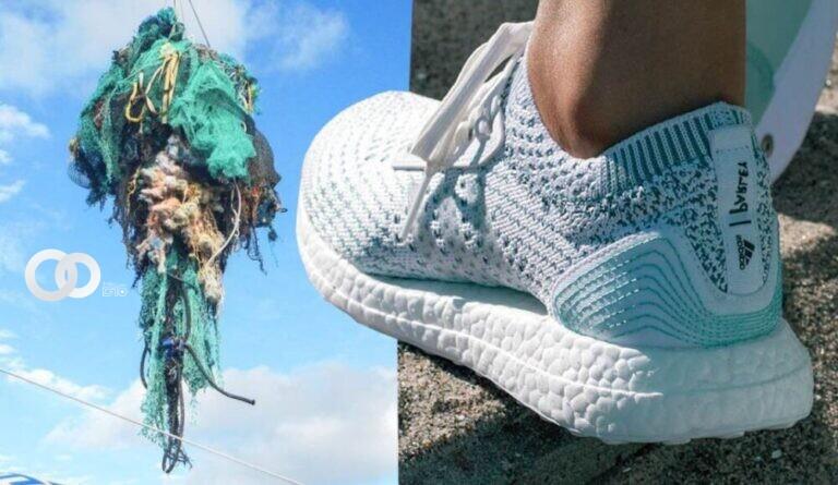 Adidas vendió 6 millones de zapatillas hechas con plástico retirado del océano