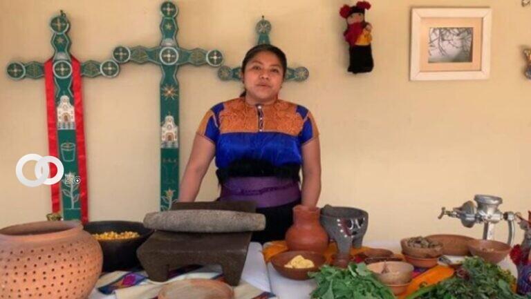 Claudia Ruiz, indígena tzotzil, está entre las mejores 50 chefs del mundo. Foto: Instagram