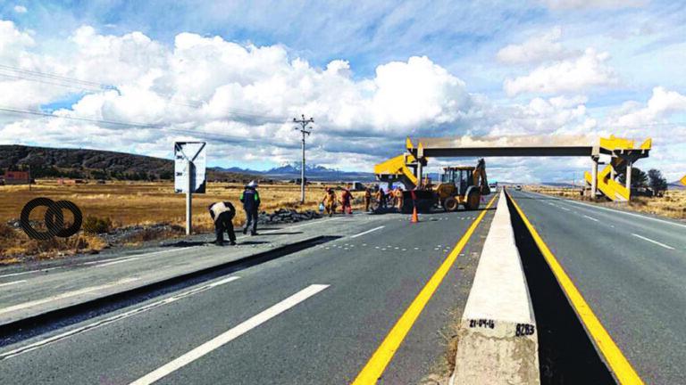 Doble vía Tiquina-Huarina