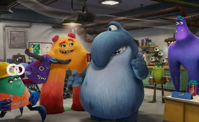 Disney+ reveló la primera imagen de la próxima serie 'Monsters At Work'