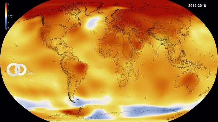 Temperaturas podrían elevarse los siguientes 5 años en el planeta