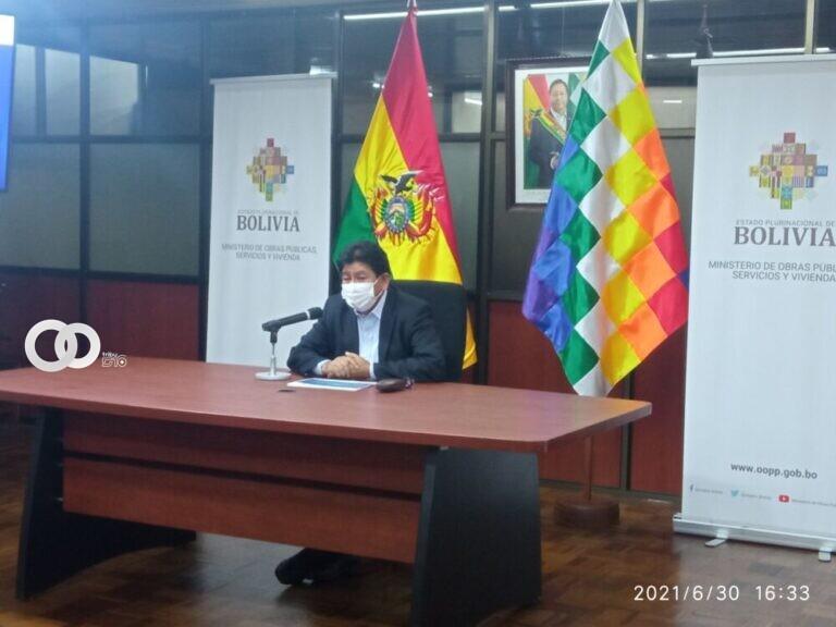 Ministro de Obras Públicas anunció que este lunes se inaugura la Hidrovía Ichilo – Mamoré