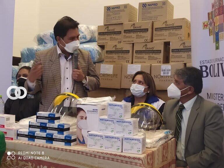 Hospital de Clínicas recibió medicamentos e insumos para pacientes COVID-19 en Terapia Intensiva