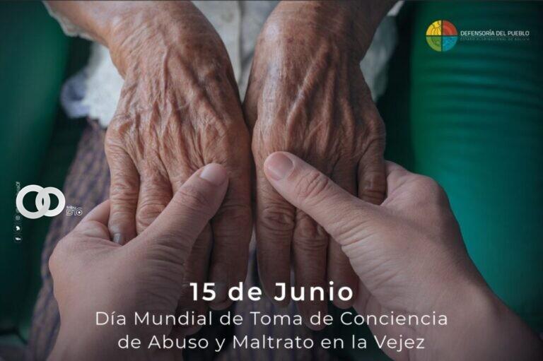 Defensoría del Pueblo pide a autoridades garantizar el cumplimiento de los derechos de las personas mayores