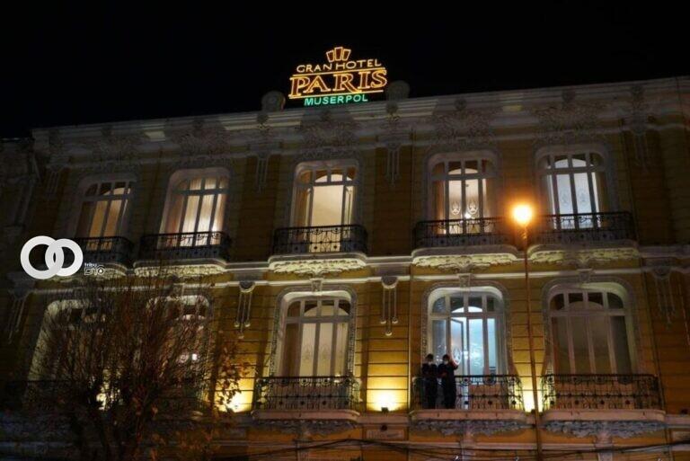 Concluyendo el mes del Policía el Ministerio de Gobierno participó en el relanzamiento del Gran Hotel Paris