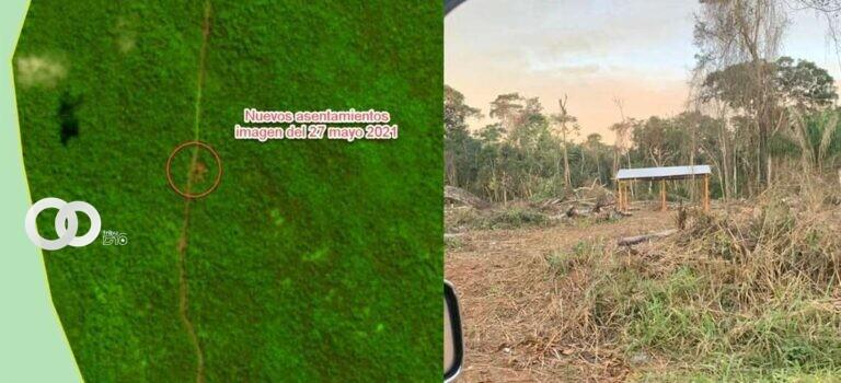 Avasallamiento en el área protegida de Bajo Paraguá