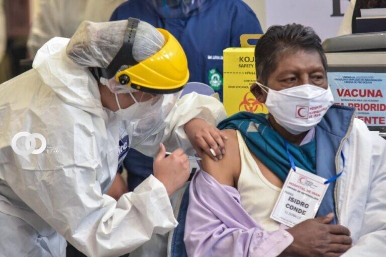 Arranca de nuevo la vacunación en el municipio de Cochabamba