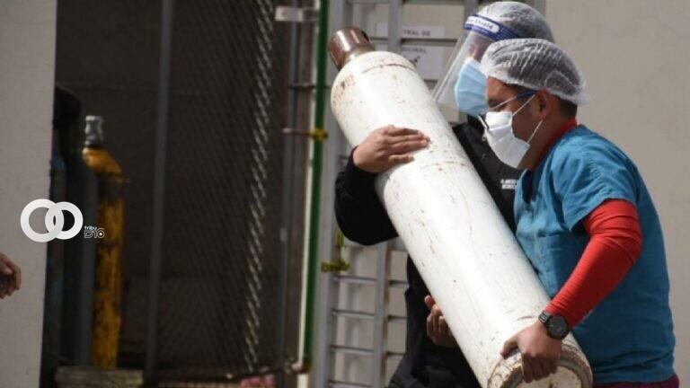 El alcalde pide apoyo a Arce para una planta de oxigeno con la base de un fondo común