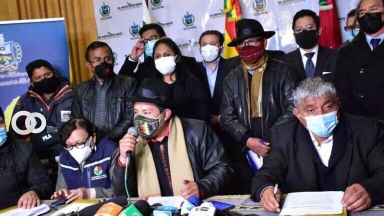 COED La Paz pide audiencia con Arce y una planta de oxígeno