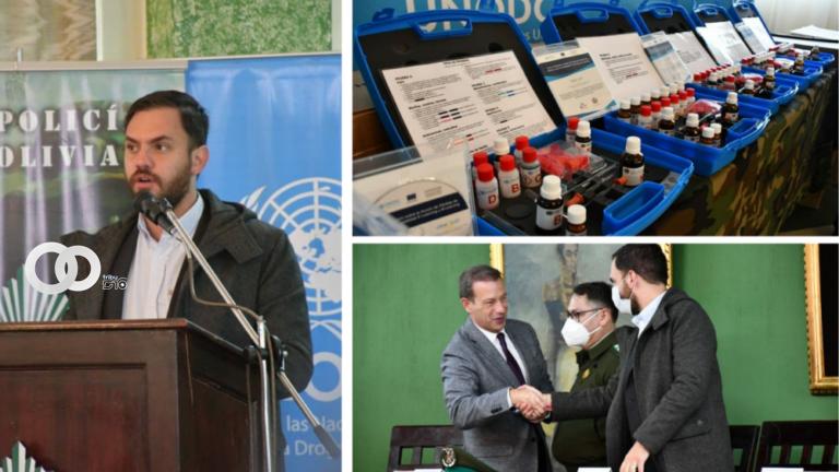 Kits de detección de droga fue entregado a la FELCN