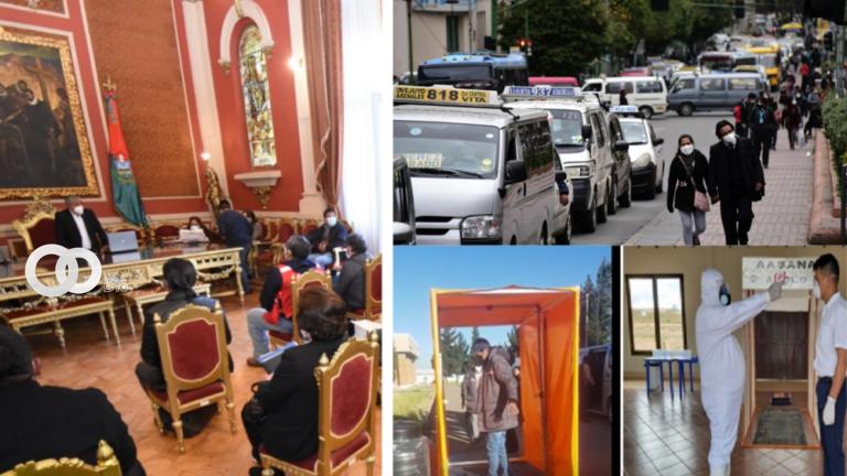 Este martes La Paz ingresa al horario de circulación restringido acordado por el COEM
