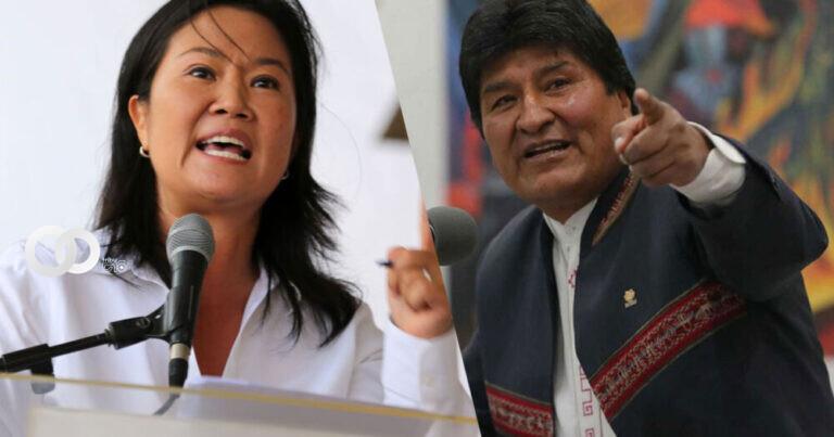 Evo Morales pide a Fujimori dejar de repetir el discurso de Donald Trump