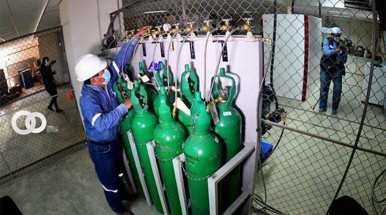 Entra en funcionamiento la planta de oxigeno del Hospital del Sur en Cochabamba