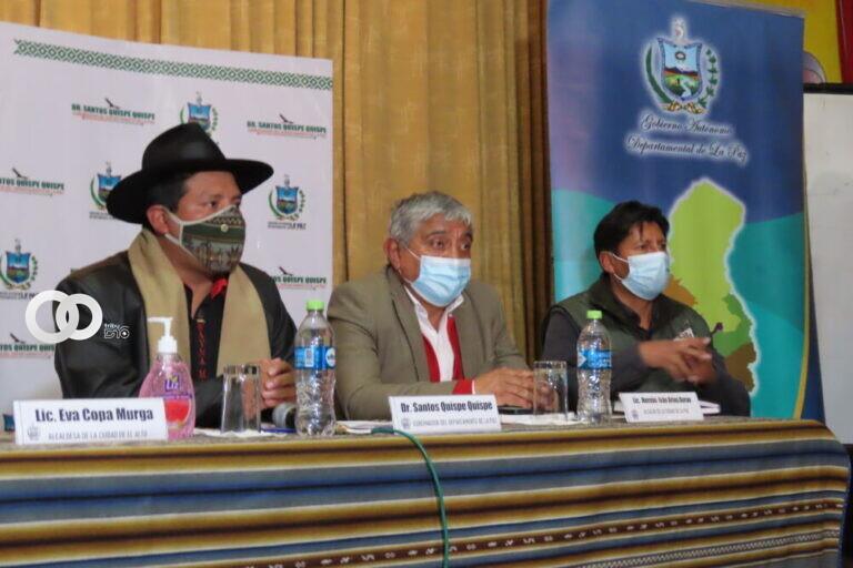 La Paz mantendrá sus restricciones para la circulación de personas y vehículos