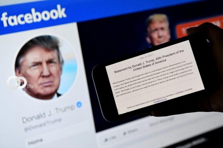Facebook anunció que suspenderá la cuenta de Donald Trump por dos años