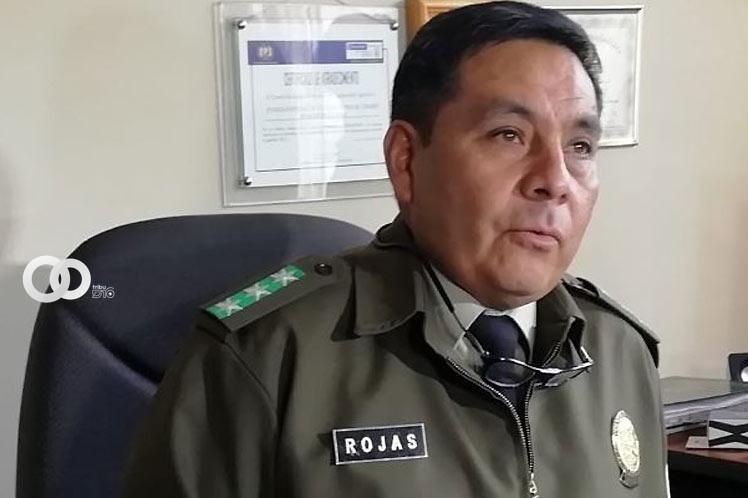 Ratifican baja definitiva de Iván Rojas, ex Director de la FELCC