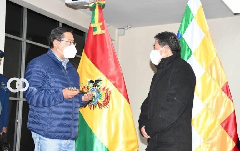 Luis Arce viaja a Venezuela y deja el mando a David Choquehuanca