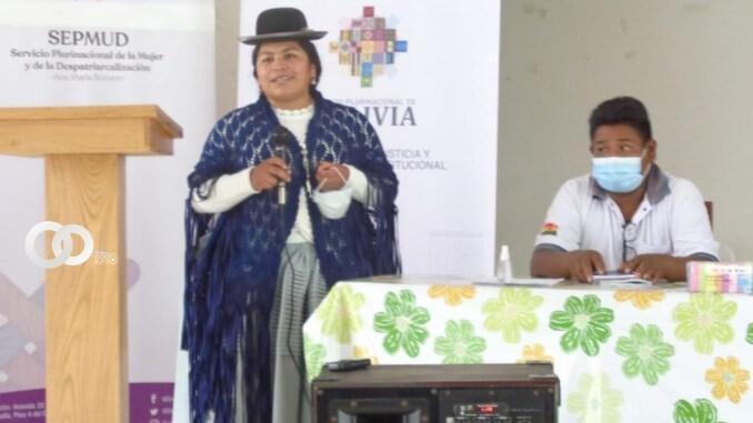 Ministerio de Justicia presenta diagnóstico sobre la violencia contra la mujer en Bolivia