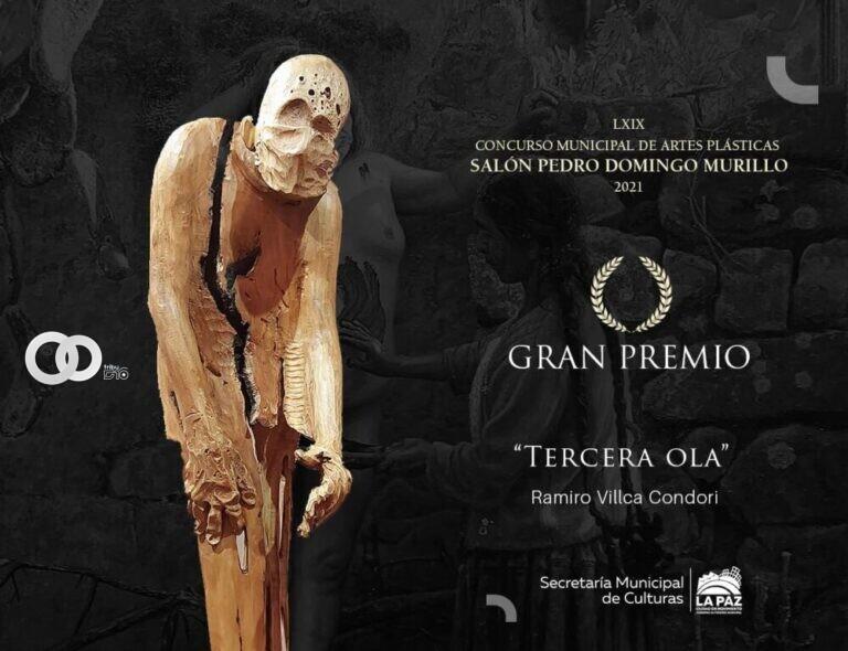 """Escultura """"Tercera Ola"""" es la ganadora en el Pedro Domingo Murillo"""