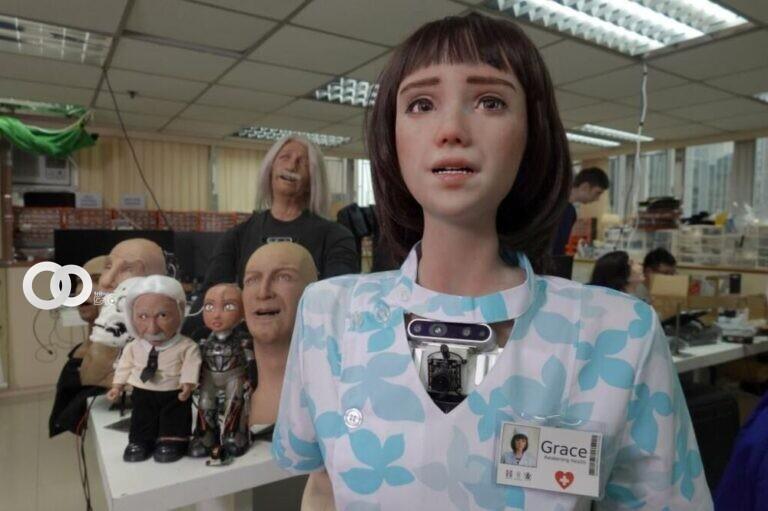 Crean la primera robot enfermera humanoide para ayudar a personas con Covid-19
