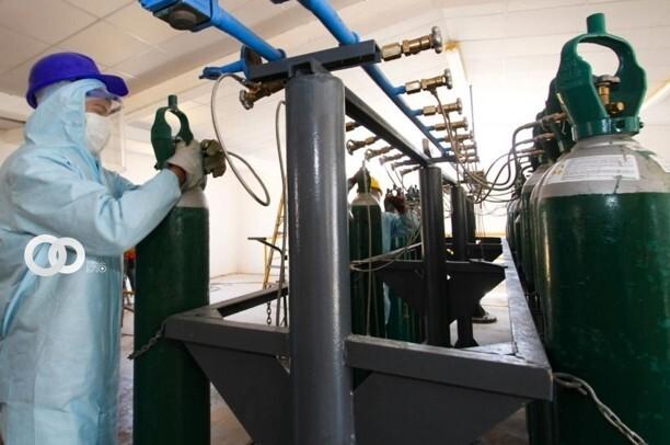 Central Generadora de Oxígeno Medicinal de la UMSA pone a disposición la recarga de tanques de oxígeno