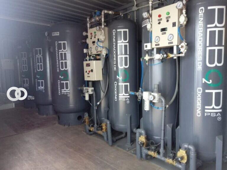 Tarija compra nueva planta de oxígeno