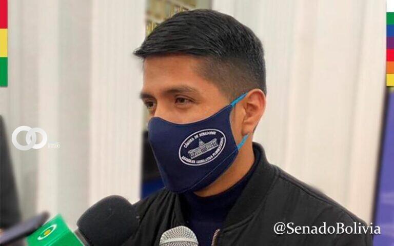 Presidente de Senado pide a la oposición mostrar pruebas para aclarar la megacorrupción en la gestión de Áñez