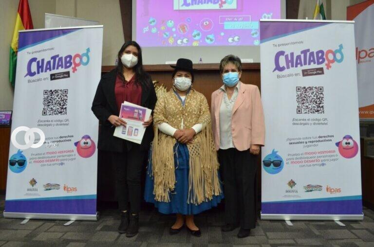 """Concurso """"Chataboo"""" busca prevenir la violencia sexual y los embarazos adolescentes"""