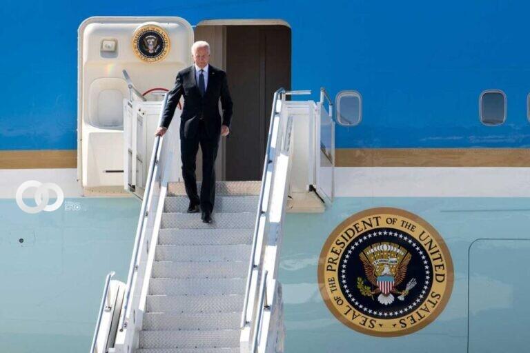 Biden llega a Ginebra para su primera cumbre con Putin