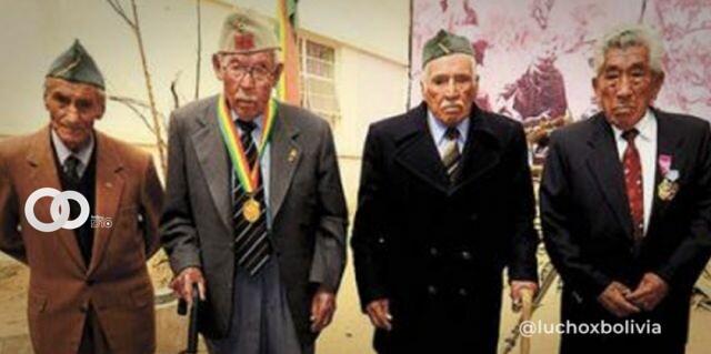 Gobierno decreta reconocimiento económico de Bs 15.500 para excombatientes de la Guerra del Chaco