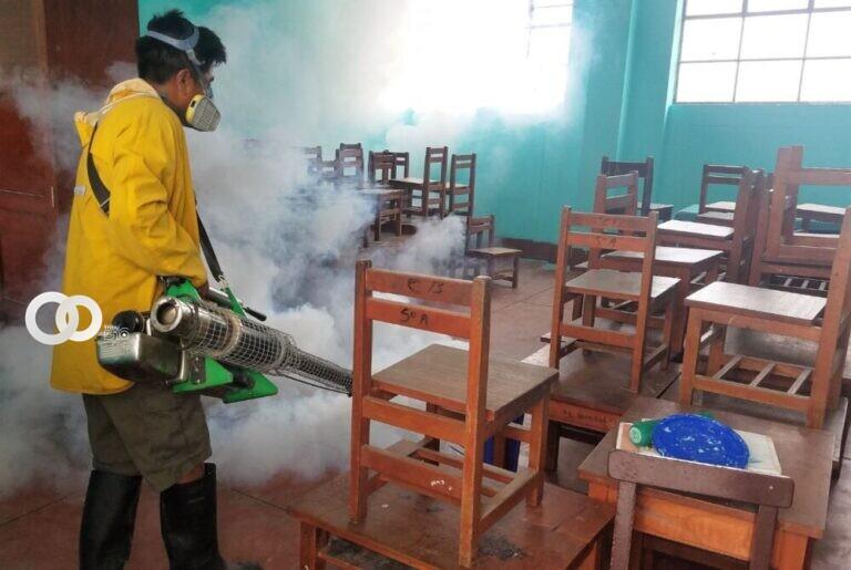 Alcaldía prepara protocolo de bioseguridad para eventual retorno a clases semipresenciales en colegios