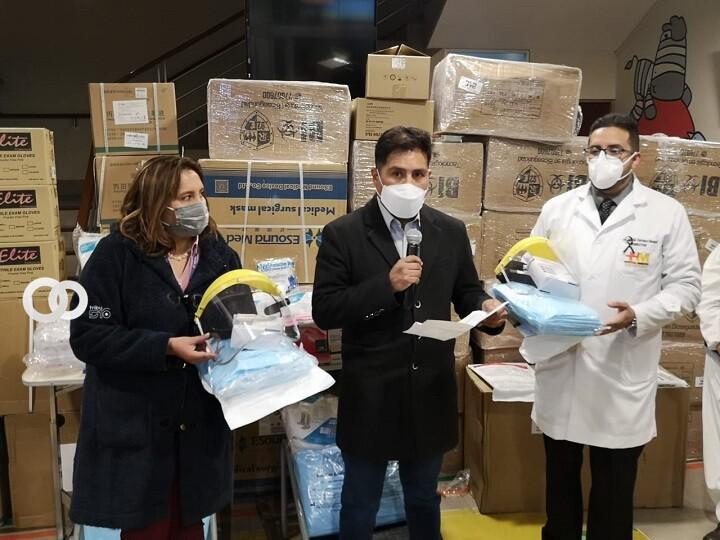 Hospital Municipal de Cotahuma recibió donación de medicamentos e insumos