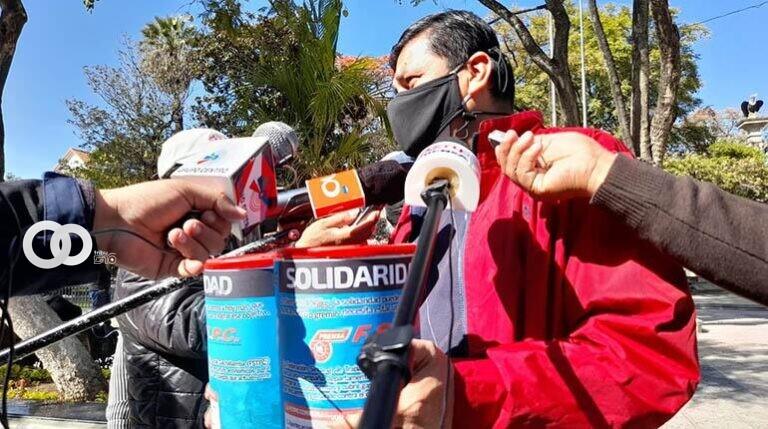Trabajadores de la Prensa lanzan campaña para recaudar fondos en Cochabamba