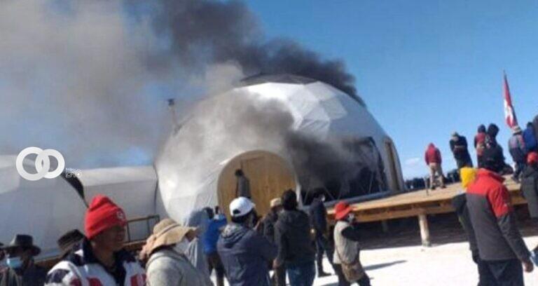 Colprotur están a la espera de dar solución a los hechos suscitados en el Salar de Thunupa