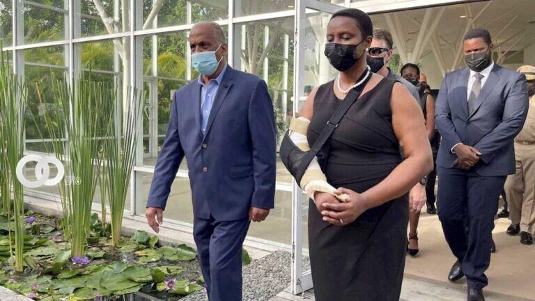 Viuda de Moise considera postularse a la Presidencia de Haití