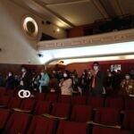 """Película """"Otro día más"""" caminó en la alfombra roja del Cine 6 de Agosto"""
