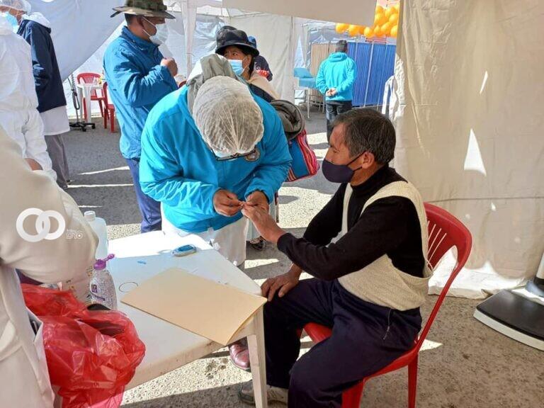 Caja de Caminos realizó  feria de salud con servicios gratuitos en Limanipata