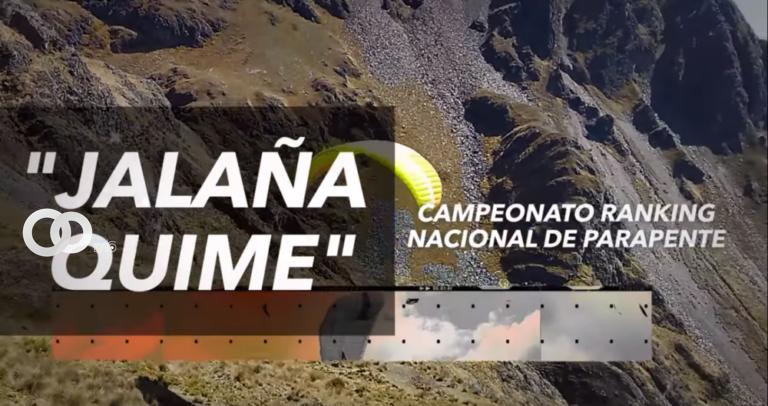 """Lanzan Ranking Nacional de Parapente, Precisión de Aterrizaje """"Jalaña Quime"""""""